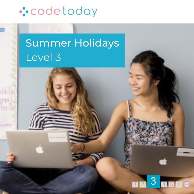 LEVEL 3 | Live Online Coding in Python | Summer Holidays 2021
