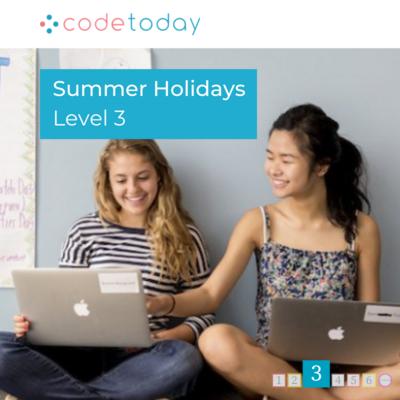 LEVEL 3   Live Online Coding in Python   Summer Holidays 2021