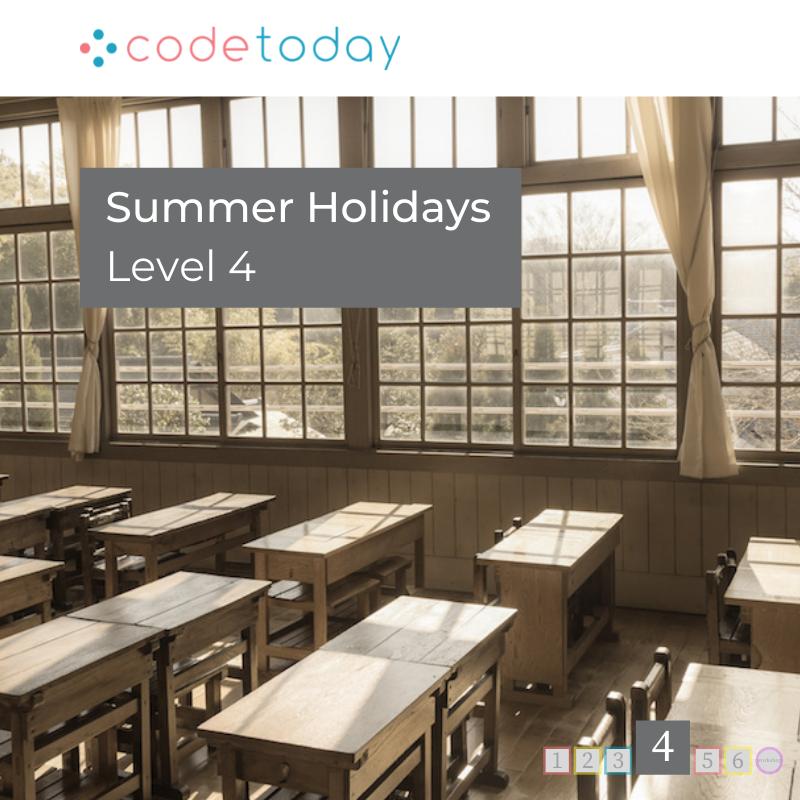 LEVEL 4 | Live Online Coding in Python | Summer Holidays 2021