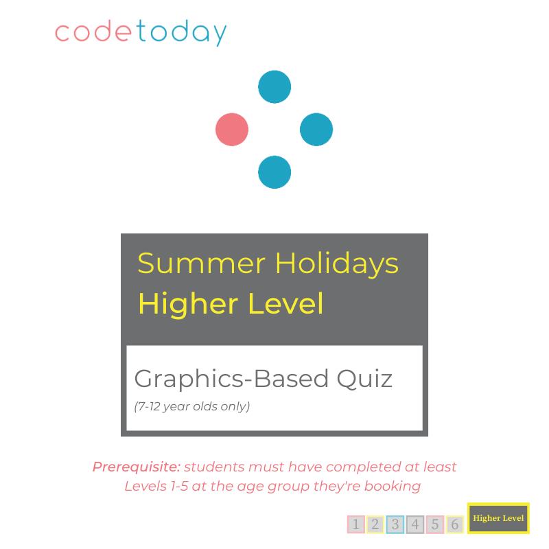 Higher Level | Graphics-Based Quiz | Summer Holidays 2021