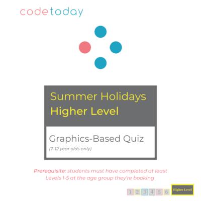 Higher Level   Graphics-Based Quiz   Summer Holidays 2021