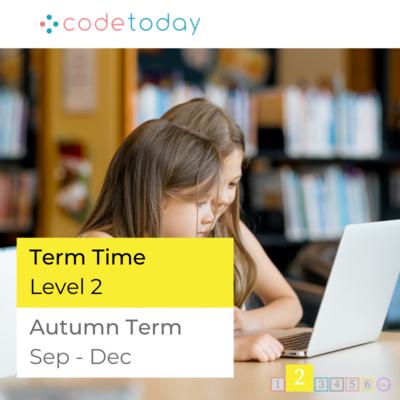 LEVEL 2   Live Online Coding in Python   Autumn Term 2021