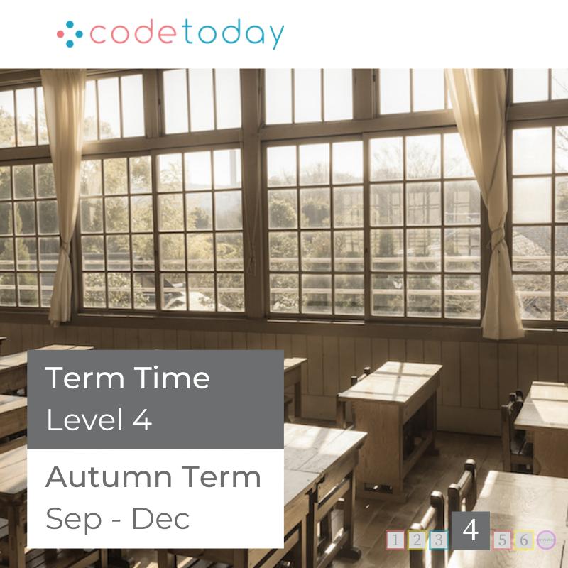 LEVEL 4   Live Online Coding in Python   Autumn Term 2021