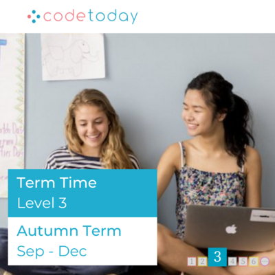 LEVEL 3 | Live Online Coding in Python | Autumn Term 2021