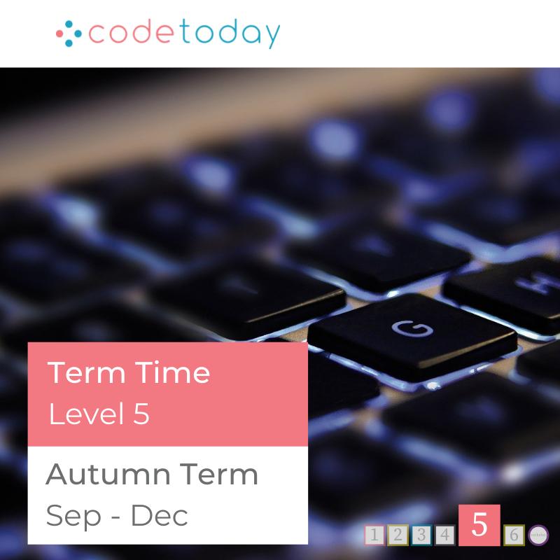 LEVEL 5   Live Online Coding in Python   Autumn Term 2021