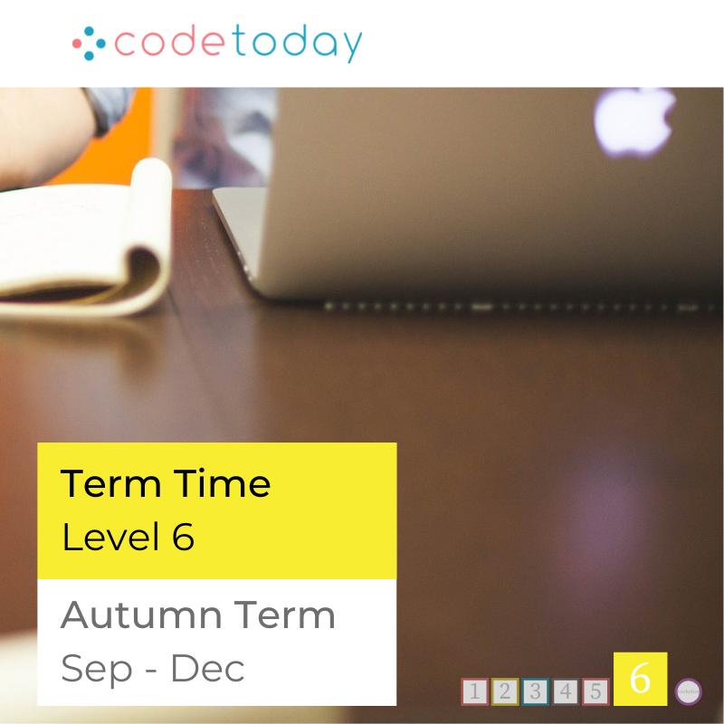 LEVEL 6   Live Online Coding in Python   Autumn Term 2021