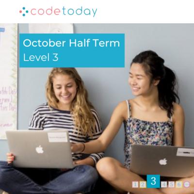 LEVEL 3 | Live Online Coding in Python | October Half Term 2021