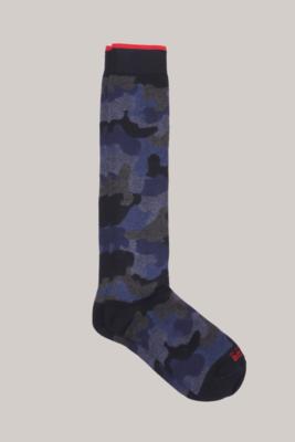 In the box calzini camouflage blu