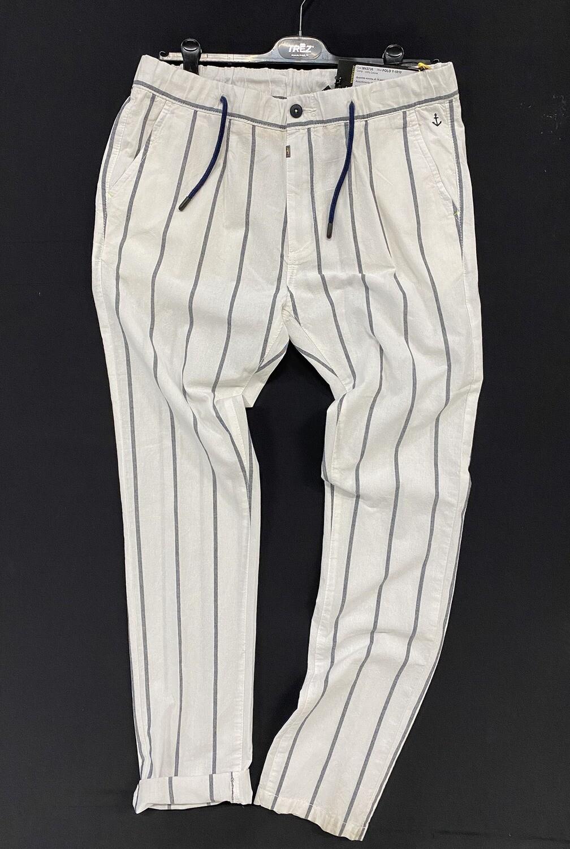Trez Pantaloni Uomo POLO Y-1010 100% Lino