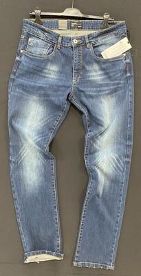 Trez Pantalone Uomo Denim NEVADA-85S RIS   100% Cotone