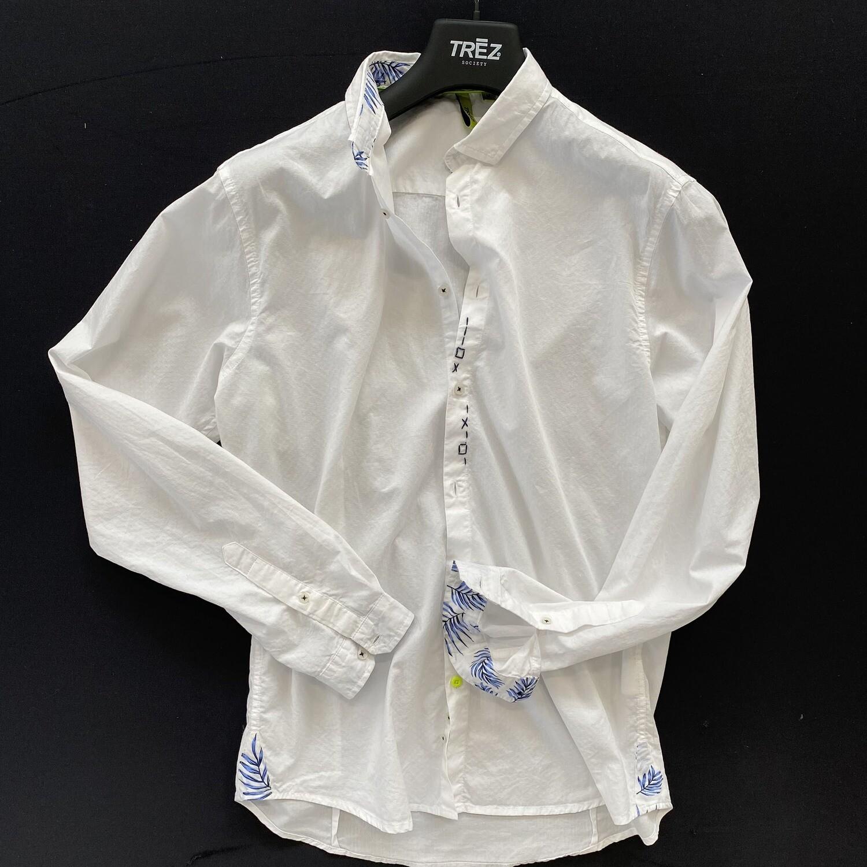Trez - Camicia Uomo  CUBIC-1420  100% Cotone