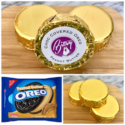 Chocolate Covered Oreo - Peanut Butter Oreo