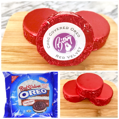 Chocolate Covered Oreo - Red Velvet Oreo