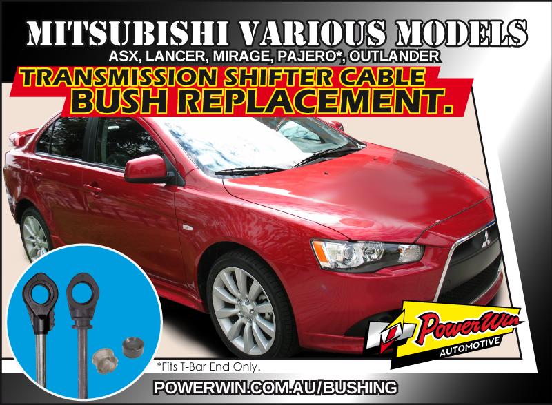 Mitsubishi ASX, Lancer, Mirage, and more Transmission shift cable end bush.