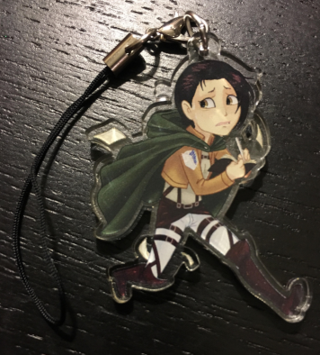 *RETIRED* Attack on Titan: Ilse Langnar - Phone Charm