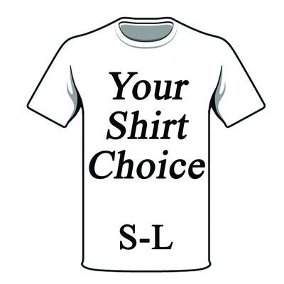 YOUR SHIRT CHOICE S-L