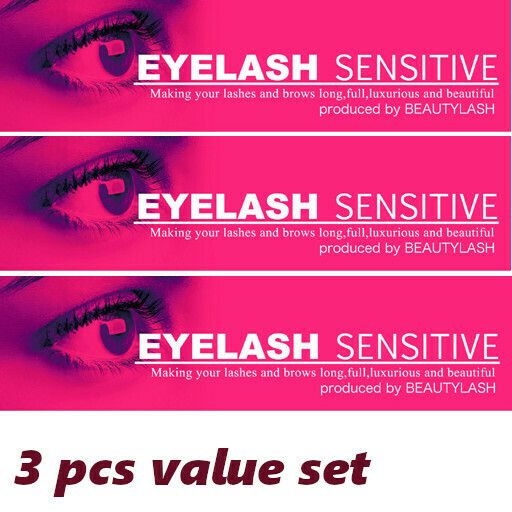 Eyelash serum for growing - Eyelash Sensitive 1ml * 3 pcs
