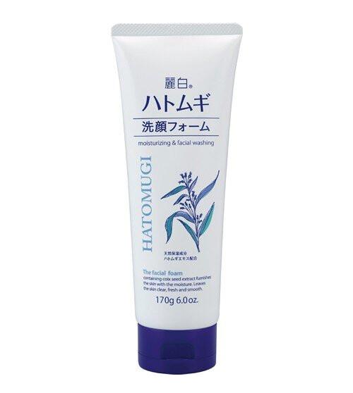 REIHAKU HATOMUGI moisturizing and facial washing