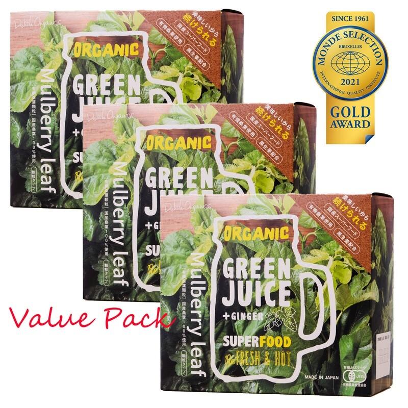 Delish organics mulberry leaf 60 bags * 3 pcs