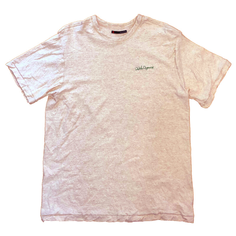 Delish Organics Organic cotton T-Shirts X tezomeya Kyoto