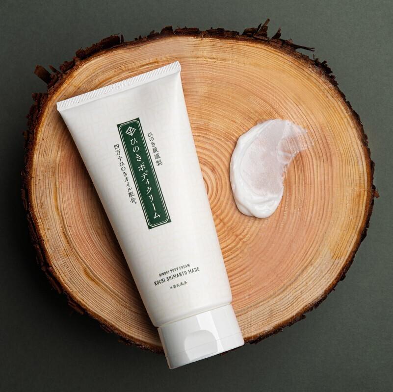 Hinoki Body Cream with Shimanto hinoki oil