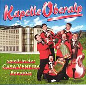 Kapelle Oberalp spielt in der Casa Ventira