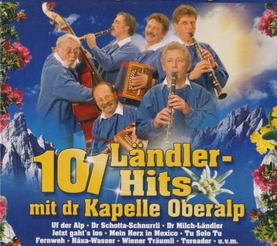 101 Ländler-Hits mit dr Kapelle Oberalp 5 CD`S
