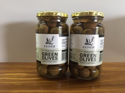 425g Green Table Olives