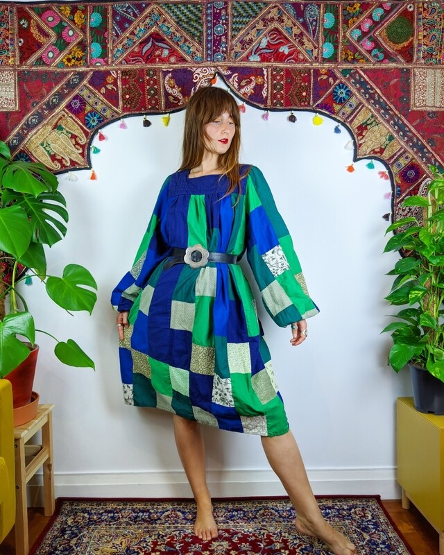 HOUSE OF FUN PATCHWORK DRESS