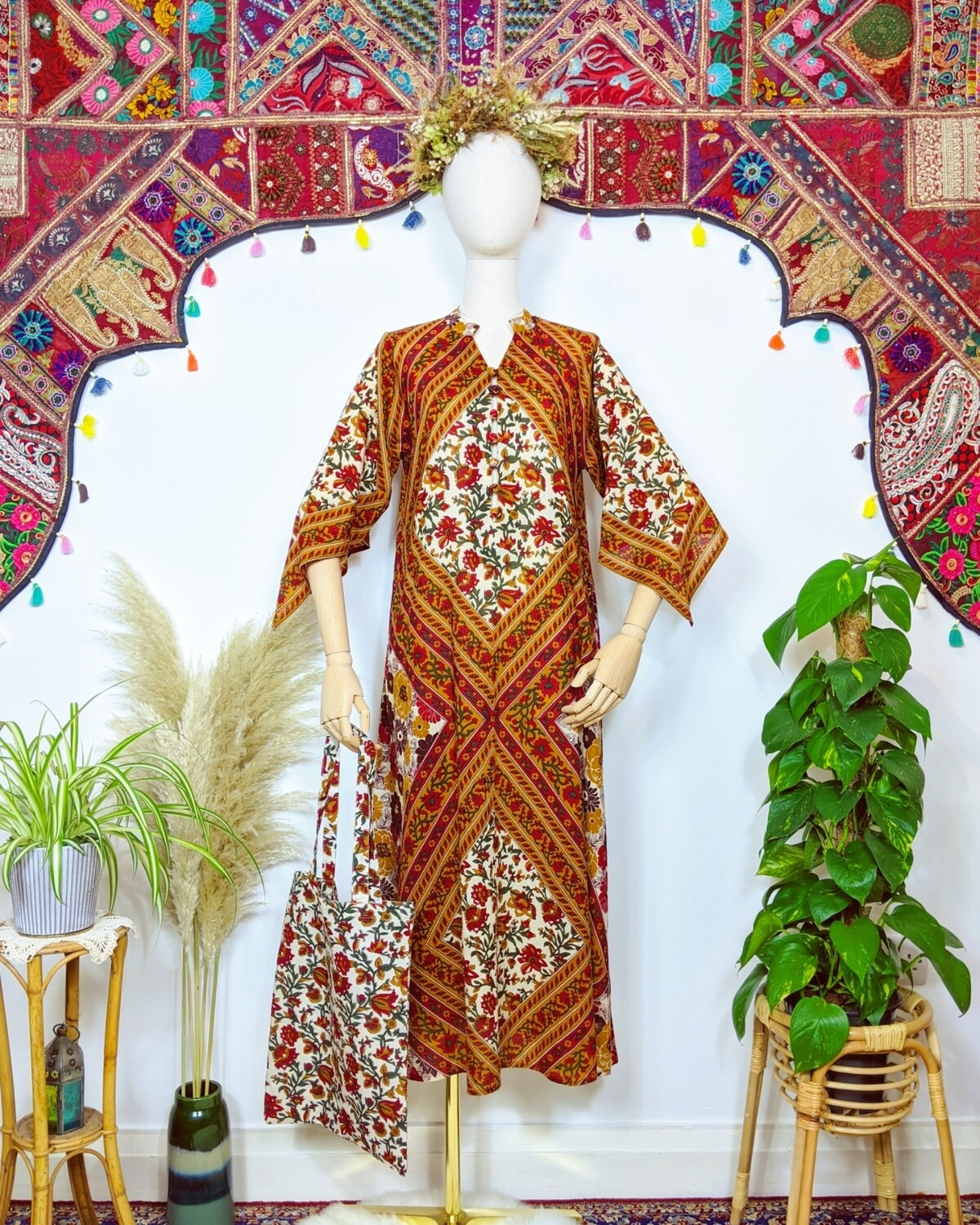 ✻ SURYA ✻ KAFTAN DRESS
