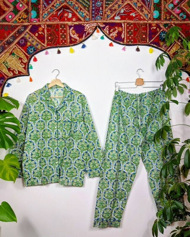 'PEACOCK FEATHER' PJS