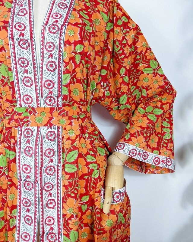 'TANGERINE TREES' ROBE