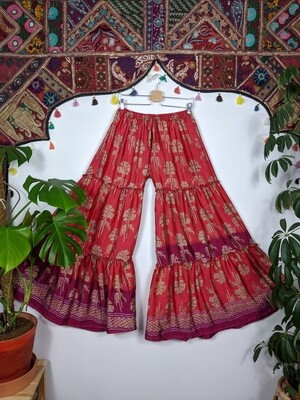 RECYCLED SILK SUPER FLARE (M)