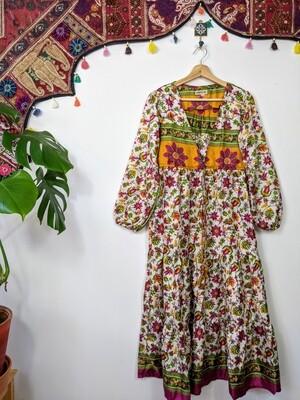 RECYCLED SILK DRESS