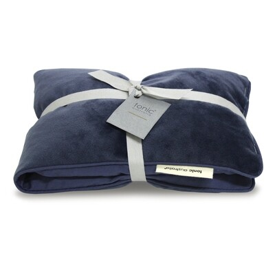 Velvet Heat Pillow Luxe Storm