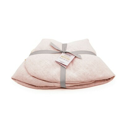 Linen Heat Pack Wrap Blush