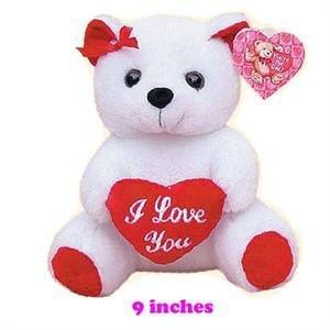 "BEAR 9"" W/I LOVE YOU HEART"