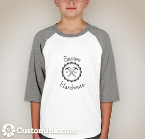 Youth baseball T