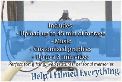 Help, I Filmed Everything.