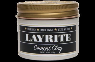 LAYRITE CEMENT HAIR CLAY - 4.25 OZ