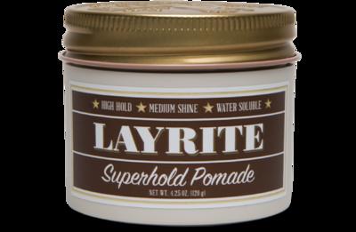 LAYRITE SUPERHOLD POMADE - 4.25 OZ