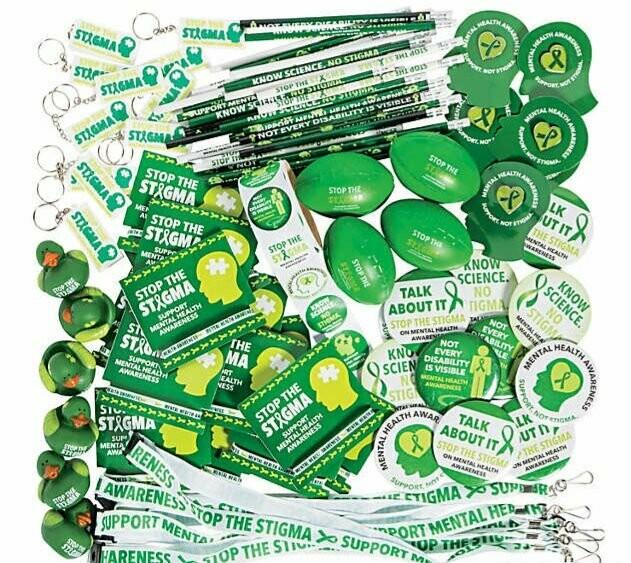 NEW ITEM: Mental Health Awareness Giveaway Assortment (250 items per Pack)