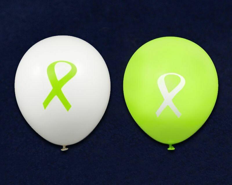 Limited Supply! Awareness Ribbon Balloons (Packs of 25)