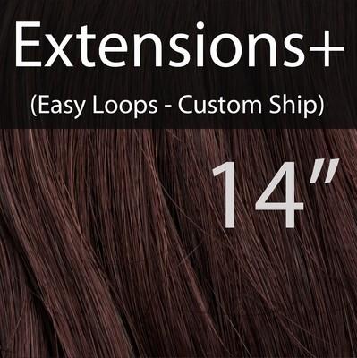 """14"""" EXTENSIONS+ Easy Loops in Custom Colors - CUSTOM Ship"""