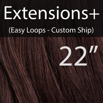 "22"" EXTENSIONS+ Easy Loops - CUSTOM Ship"