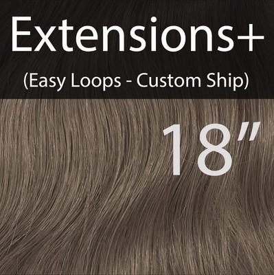 """18"""" EXTENSIONS+ Easy Loops in custom colors - CUSTOM Ship"""
