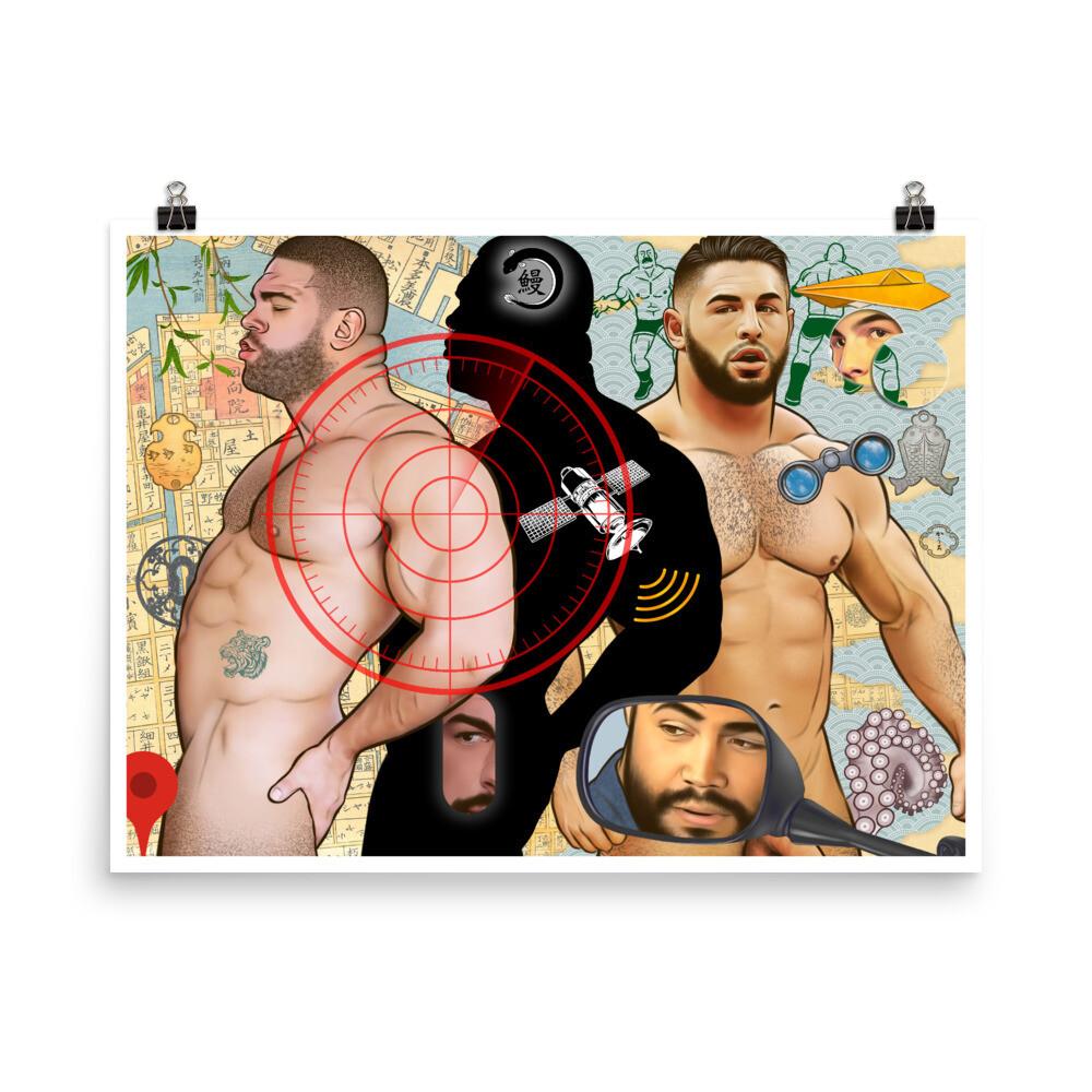 Art Poster (Bachelors) L