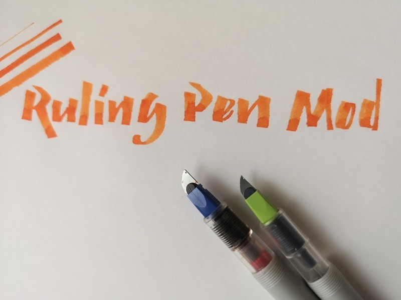 Pilot Parallel with Ruling Pen Mod
