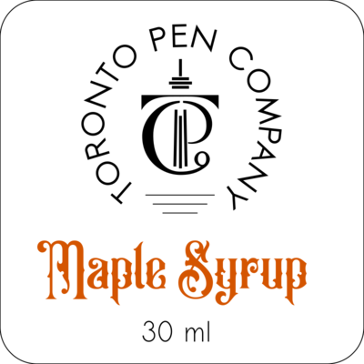 Maple Syrup - Fountain Pen Ink (30 ml)