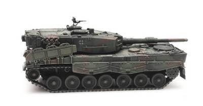 Artitec 6870186 H0 Leopardo 2A4, camuflaje, carga de trenes.